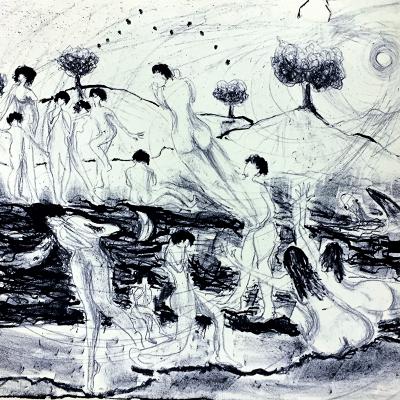 Sibelle Litografi-A-Parable-31x48