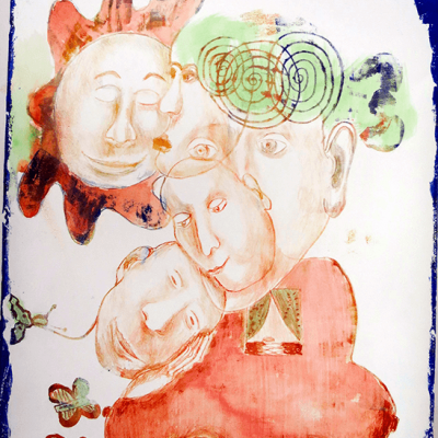 Sibelle - litografi -