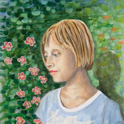 Anna Olga - 70cm x 62cm