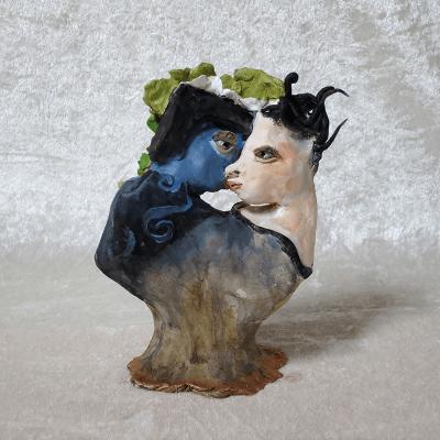 Sibelle - Clay sculpture Rawtojpegph
