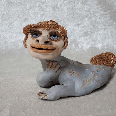 Sibelle - Clay-sculpture-Sibelle-Tvermoes