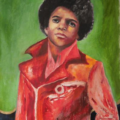 Michael Jackson - 86cm x 54cm
