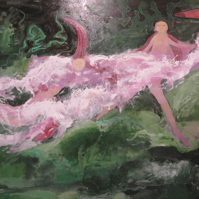 Oilpainting - Stream of wonders - 65cm x 94cm